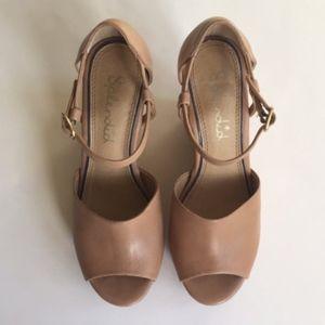 bfd04307fa33 Splendid Shoes - Splendid Davie Leather Wedge Sandals